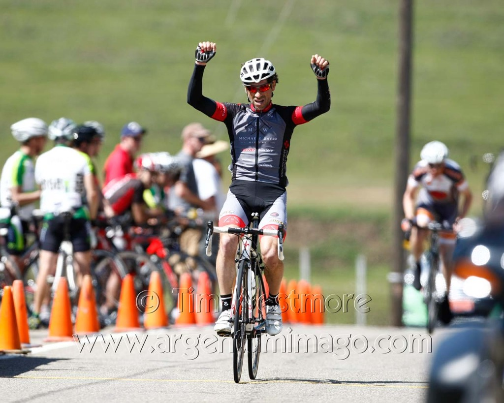 Andres Gil (Michael David Winery Cycling Team) is enjoying a superb first half to the season
