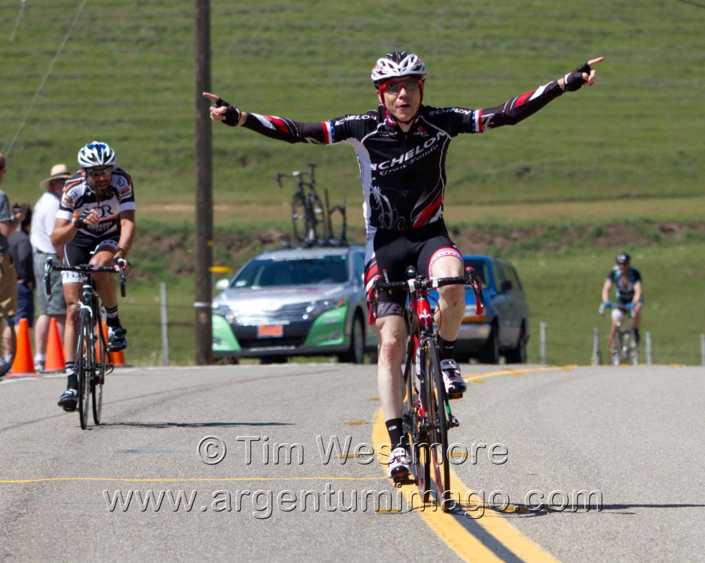 Cale Reeder (Echelon Gran Fondo/Charity of Choice) to the fore at Wente