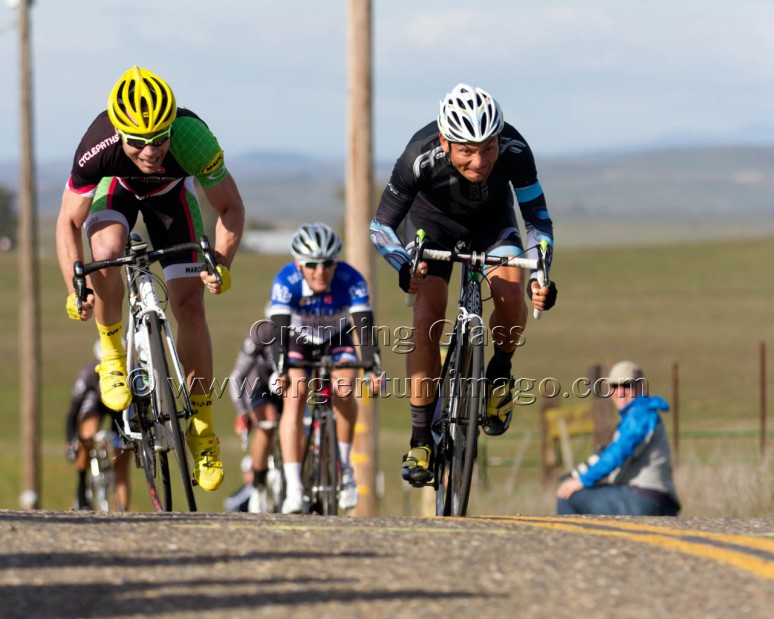Freddie Rodriguez and Chuck Hutcheson Contest the Sprint